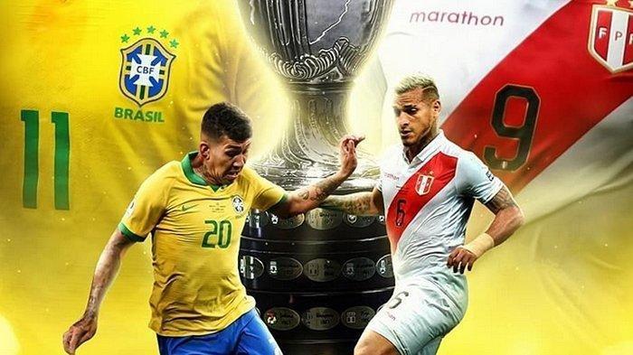 Partai Pamungkas! Ini Jadwal, Prediksi, dan Head to head Brasil vs Peru di Final Copa America 2019