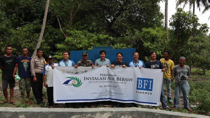 Pemulihan Pascabencana, BFI Finance Resmikan Sarana Pengadaan Air Bersih di Sulawesi Tengah