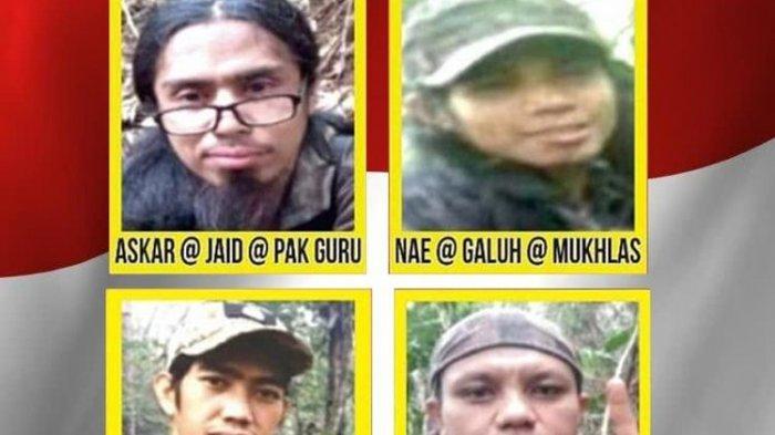 Satgas Madago Raya Kembali Rilis Identitas 4 DPO Teroris Poso yang Masih Diburu, Ini Tampangnya