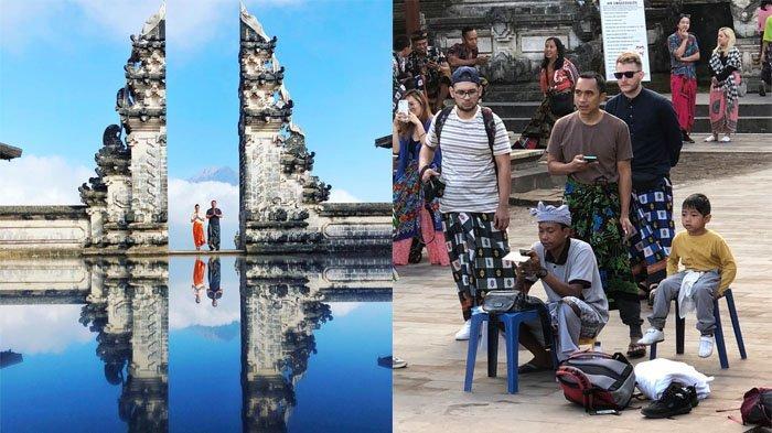 Viral Turis Asing Kecewa saat Berburu Foto di Pura Lempuyang Bali, Begini Gambar Aslinya