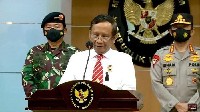 Mahfud MD Pastikan AHY Masih Resmi Jadi Ketua Umum Demokrat, Terpilihnya Moeldoko di KLB Tidak Sah?