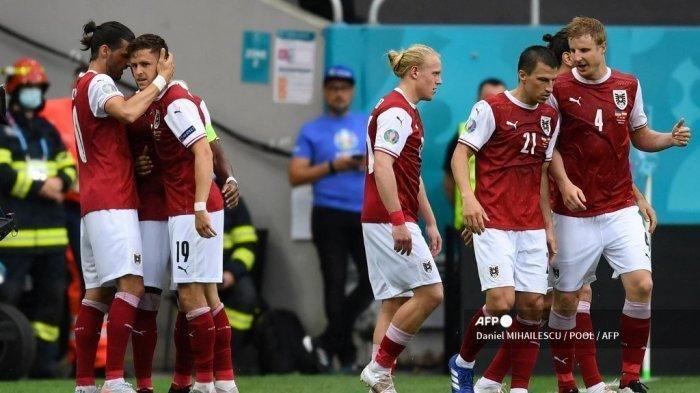 Hasil Euro 2020 - Kalahkan Ukraina, Austria Lolos Dampingi Belanda ke Babak 16 Besar