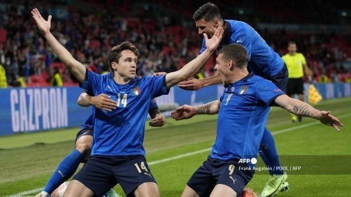 Hasil Euro 2020 - Italia ke Perempatfinal usai Ladeni Permainan Alot Austria hingga Extra Time