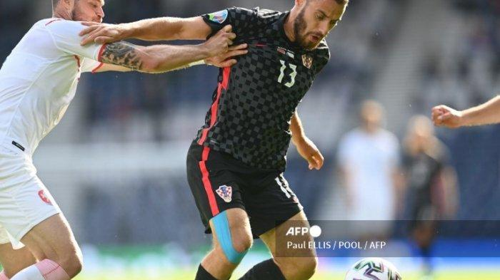 Hasil Euro 2020 - Diwarnai dengan Laga Keras, Kroasia dan Ceko Berbagi Poin dengan Skor 1-1