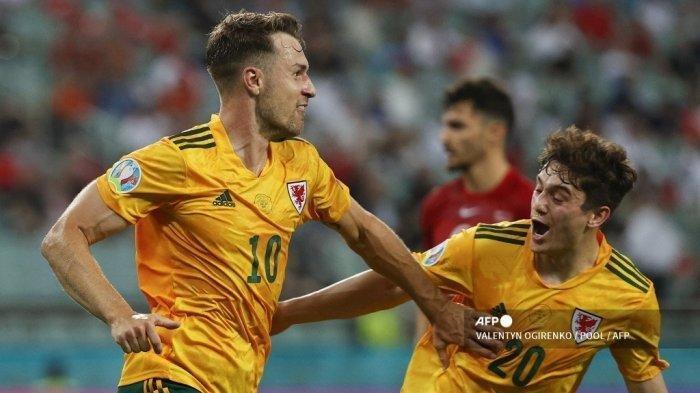 Hasil Euro 2020 - Wales Tetap Menang Lawan Turki Meski Gareth Bale Gagal Penalti