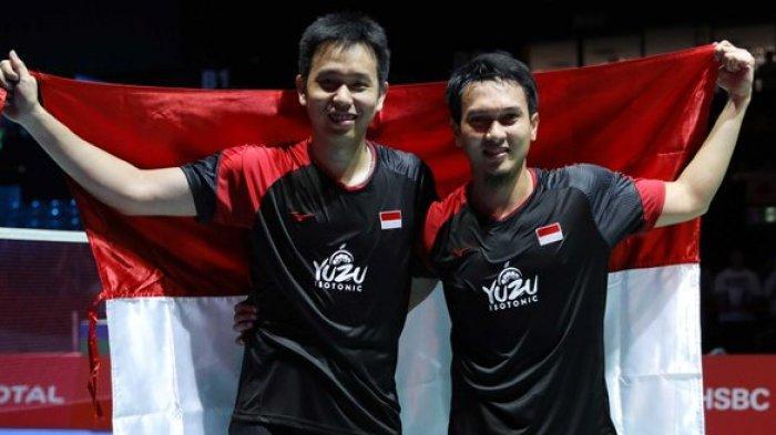 5 Fakta Kemenangan Ahsan/Hendra di Kejuaraan Dunia Badminton 2019, Penuhi Tantangan Liliyana Natsir