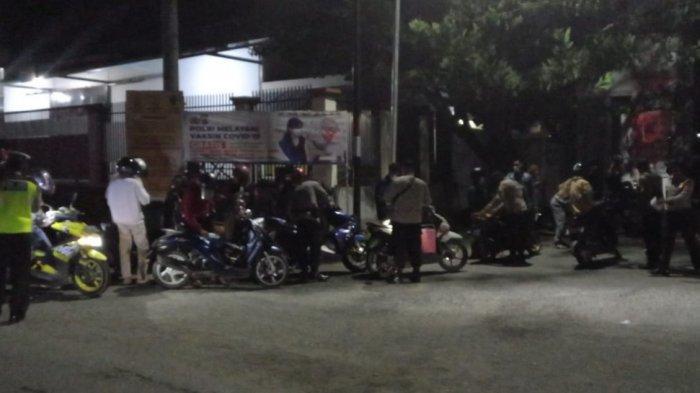 34 Kendaraan Tanpa Surat dan 40 Pelanggar Prokes Covid-19 Terjaring Razia di Mamboro