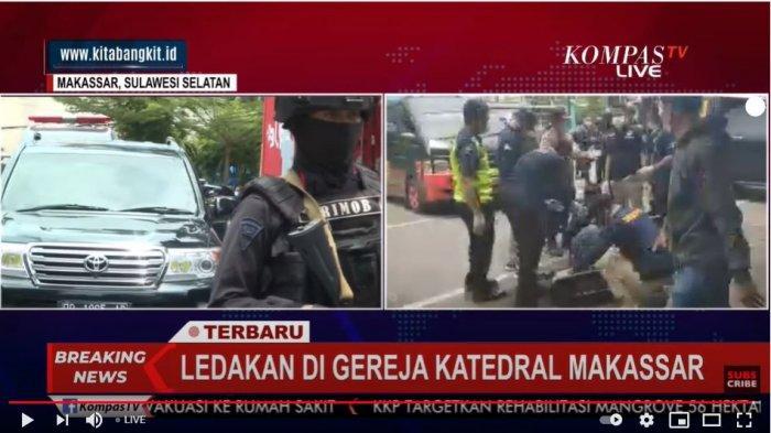 Wali Kota Makassar Imbau Masyarakat untuk Tidak Menyebar Video dan Foto Bom di Gereja Katedral