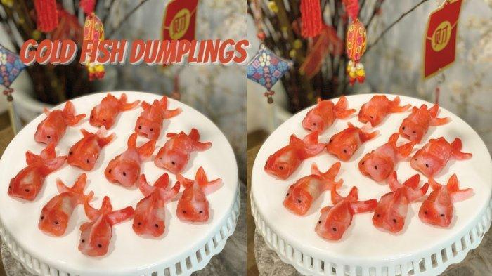 Menu Camilan Berbuka Puasa : Dumpling Bentuk Ikan yang Lucu dan Unik