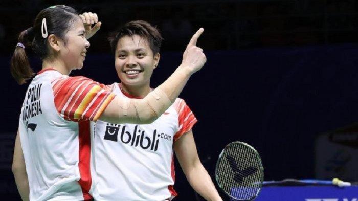Jadwal Badminton Indonesia di Olimpiade Tokyo di TVRI: Greysia Polii/Apriyani Rahayu Tanding Pertama