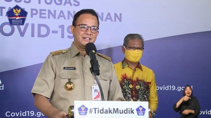 Catatan dan Hiburan Anies Baswedan Terungkap Gara-gara Notif Ponsel Gubernur Terlihat saat Live