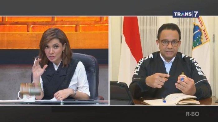 Anies Baswedan Bantah Ucapan Najwa shihab Soal Normal Baru: No No No, Kita Belum Aman