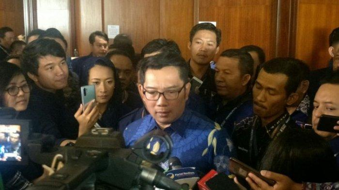 Ridwan Kamil Minta Kehadirannya di Kongres Nasdem Tak Dikaitkan dengan Pemilu 2024: Jauh Buat Saya