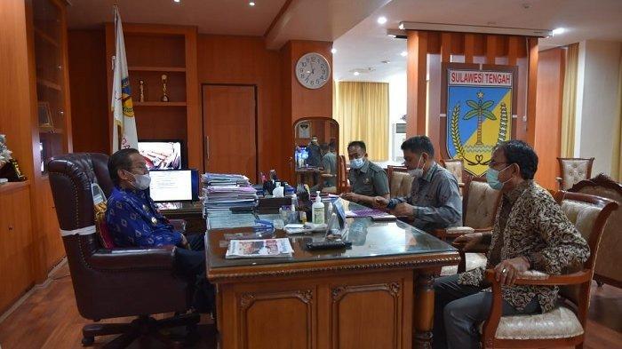 Terima Laporan Hasil PSU Morowali Utara, Ini Pesan Gubernur Longki ke Pj Bupati Morut