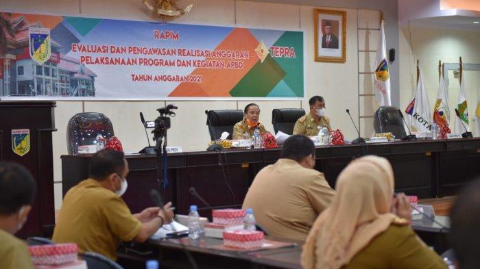 Sepekan sebelum Lengser, Gubernur Sulteng Pimpin Rapat Tepra 2021