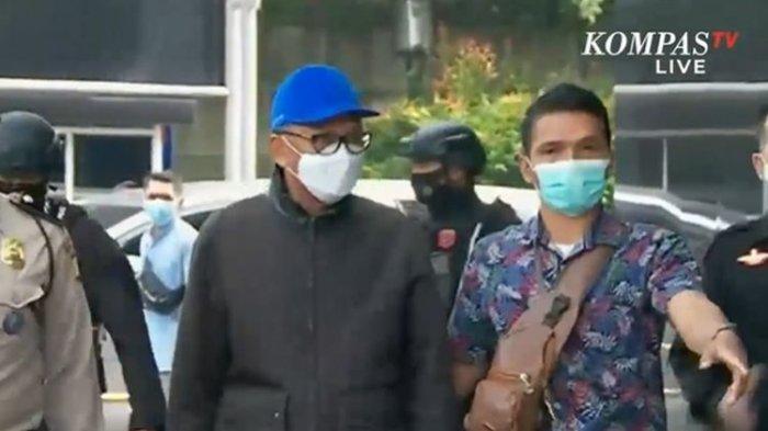 Gubernur Sulawesi Selatan Nurdin Abdullah tiba di Gedung KPK Jakarta, Sabtu (27/2/2021) sekitar pukul 09.30 WIB.