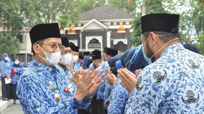 Jelang Akhir Masa Jabatan Gubernur dan Wakil Gubernur Sulteng, Longki-Rusli Berpamitan