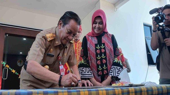 Gubernur H Longki Djanggola Resmikan Gedung Baru BBTNLL dan BKSDA Sulteng