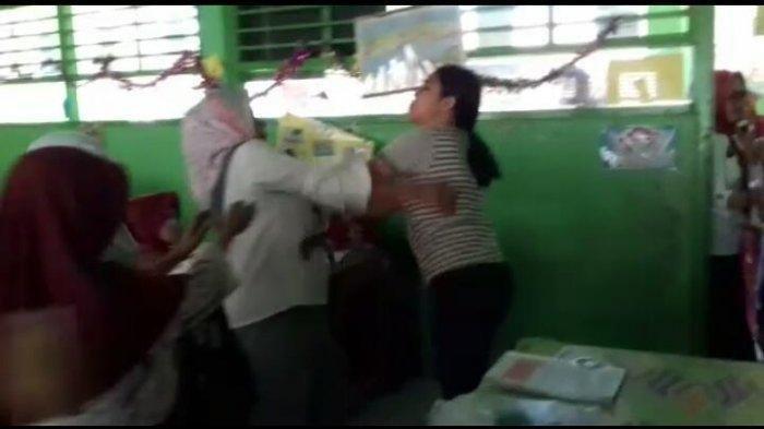 Viral Video Guru Dikeroyok Wali Murid di Gowa, Peristiwa Terjadi Saat KBM Berlangsung