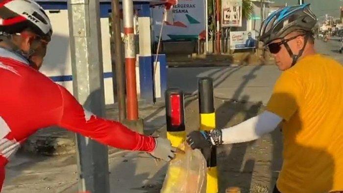 Pungut Sampah di Traffic Light Kota Palu, Curhat Hadianto: Sia-sia Upaya Pemerintah