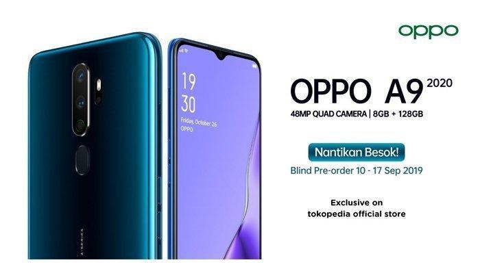 Daftar Harga HP Oppo Terbaru per Maret 2020: Oppo A9 Berkamera 48 MP Dihargai Rp 3,7 Juta