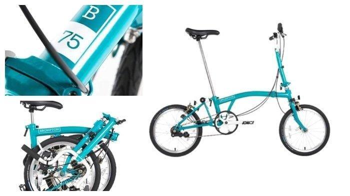 Daftar Harga Sepeda Lipat Brompton Juli 2020:Brompton B75 Dijual Mulai Rp 30 Juta,Ini Spesifikasinya