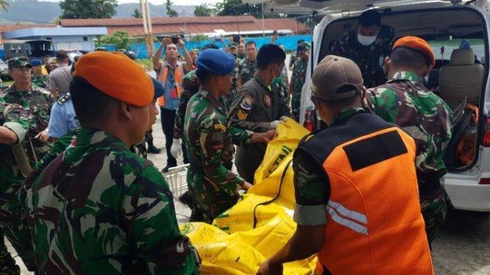 10 Pucuk Senjata yang Dibawa Anggota TNI Korban Jatuhnya Helikopter MI-17 Hilang