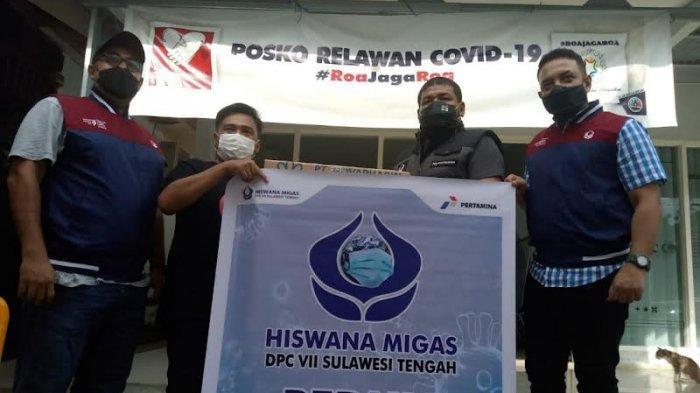 Hiswana Migas Sulteng Salurkan Ratusan Paket Vitamin untuk Pasien Isoman