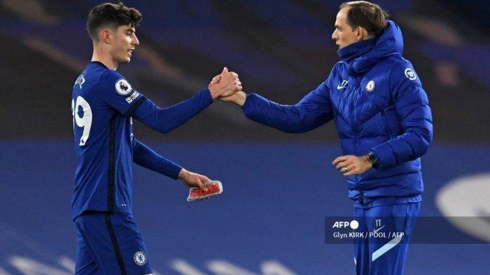 Hasil Liga Inggris - Menang 2-0 Lawan Everton, Chelsea Nyaman Duduki Posisi Empat Besar