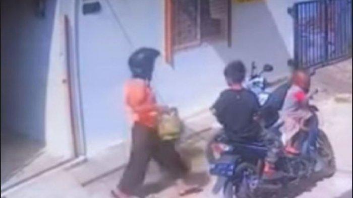 Aksi Ibu Hamil Curi Tabung Gas Sambil Bawa 2 Anak Kecil Terekam CCTV, Korban Merasa Iba Tapi Kesal