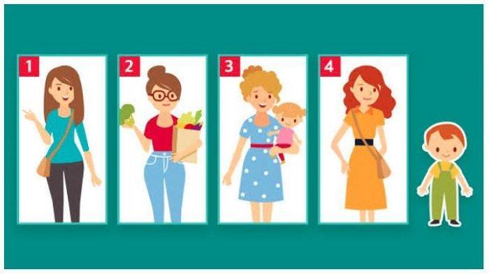 Tes Kepribadian: Wanita Mana yang Paling Cocok jadi Ibu dari Anak Ini? Pilihanmu Buka Sisi Positifmu