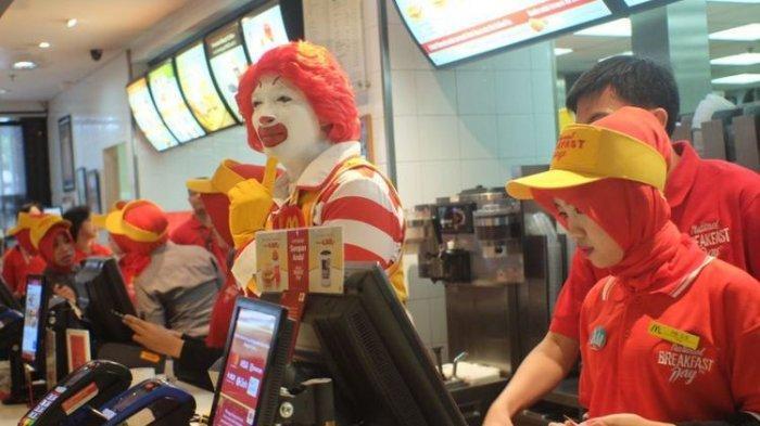 Transisi ke New Normal, Mc Donald's Mulai Bolehkan 10 Gerai di Jakarta Beri Layanan Makan Di Tempat