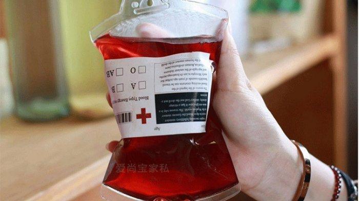 Ilustrasi kantong darah