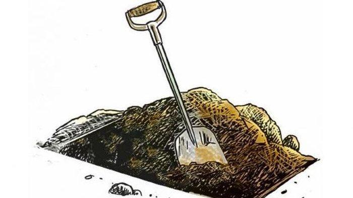 Heboh Kuburan Misterius di Nambo Banggai, Warga: Setelah Digali Berisi Janin Bayi