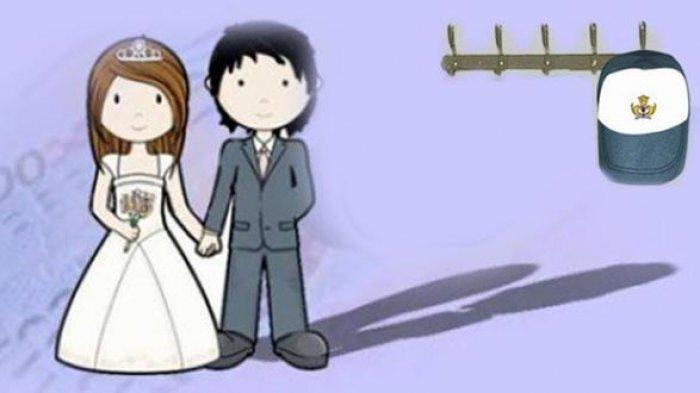 FOTO ILUSTRASI: Pernikahan dini yang sering dijumpai pada usia muda memiliki dampak positif dan negatif terhadap kesehatan mental seseorang.