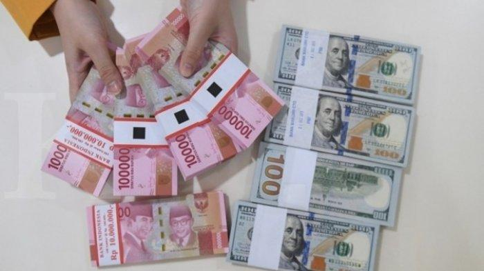 Selasa Sore, Rupiah Menguat, Naik 0,03 Persen per Dolar AS, Ini Kurs di 5 Bank