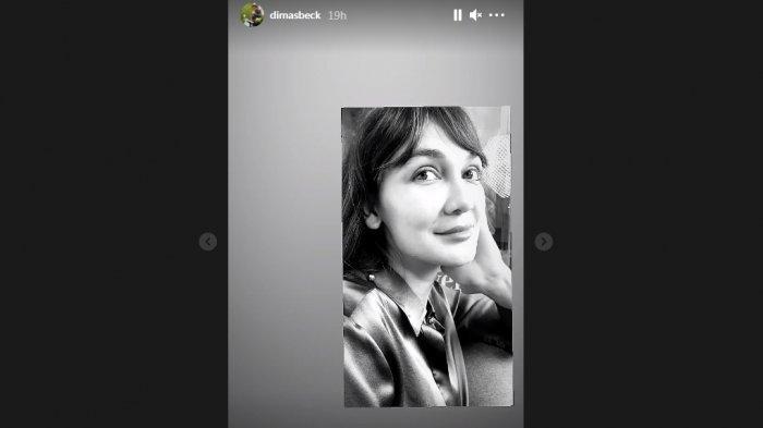 Dimas Beck video Luna Maya di Instagram