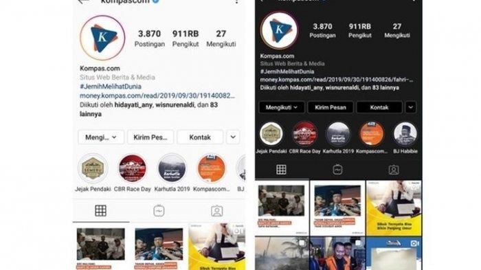 Tagar #InstagramDarkMode Sedang Viral! Begini Cara Mengaktifkan Dark Mode di Ponselmu