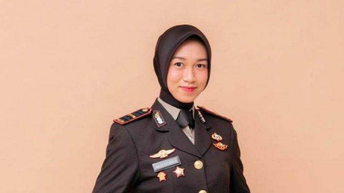 Pesona Cantik Sosok Ipda Nadya Ayu Nurlia, Kapolsek Wanita Termuda di Riau Berusia 23 Tahun