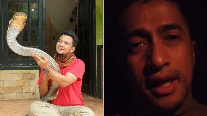 Panji Petualang Lepas Ular King Cobra Garaga karena Dianggap Biang Kerok, Irfan Hakim Menangis Sedih
