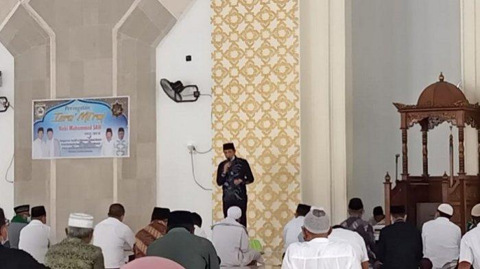 Hikmah Perayaan Isra Miraj di Tengah Pandemi COVID-19, Bupati Morowali Ajak Masyarakat Disiplin 5M