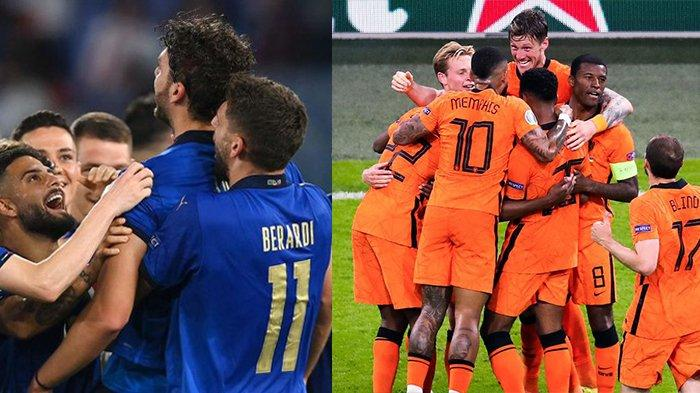 Balada Italia dan Belanda: Tak Lolos Piala Dunia 2018, Kini Bermahkota Raja di Prolog Euro 2020