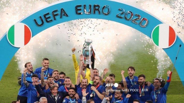 10 Fakta Final Euro 2020 - Italia Lanjutkan Rekor Tak Pernah Kalah dalam 34 Laga Terakhir