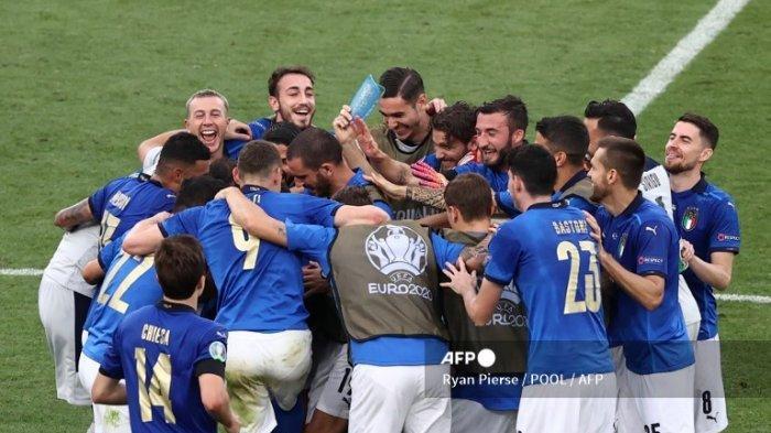 Italia Ketemu Lawan Tangguh di Babak 16 Besar Euro 2020, Berikut Skema Fase Gugur dan Jadwal Lengkap