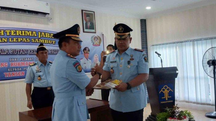 Kepala Keamanan Lapas Palu Naik Jabatan Menjadi Kepala Rutan Kelas IIA Palu