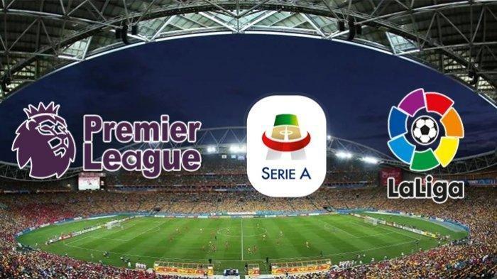 Jadwal Siaran Bola Malam Ini: Liga Inggris, Liga Italia, Liga Spanyol, Live Mola TV & RCTI