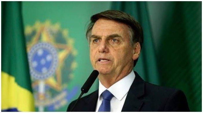 Kebakaran di Hutan Amazon Masih Belum Padam, Presiden Brazil Jair Bolsonaro: ''Itu Bohong''
