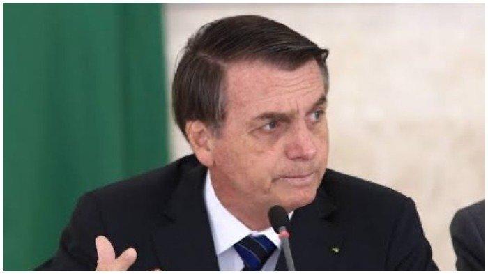 Presiden Brasil Buka Masker dan Tak Patuhi Social Distancing, Sejumlah Wartawan Harus Dikarantina