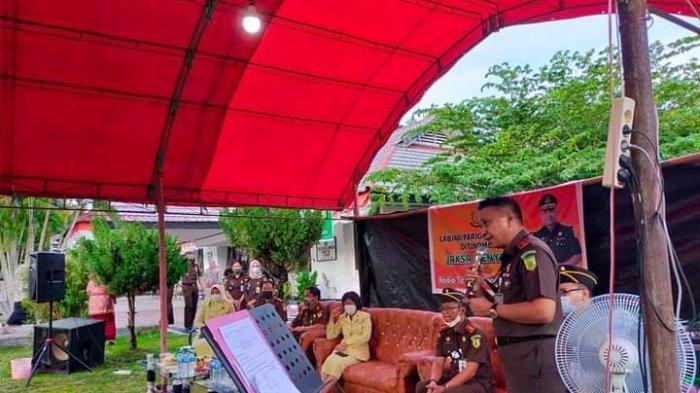Bertajuk Jaksa Menyapa, Cabjari Parimo dan Radio DOB Tomini Gelar Dialog dengan Masyarakat Tinombo