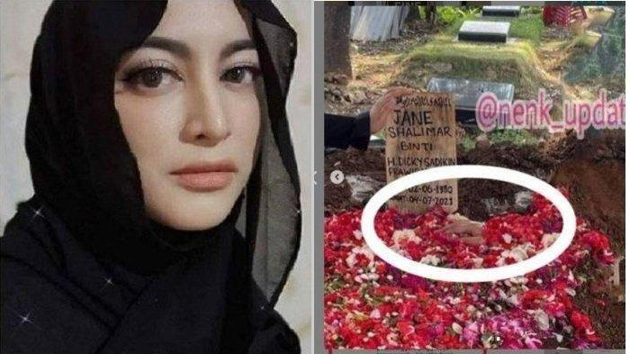 Terungkap Fakta Penampakan Tangan di Makam Jane Shalimar, Elisya Olive: Tangannya Ndak Kebawa